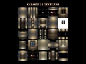 Carmen 25 textures