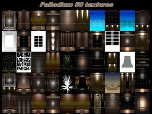 Paladium 50 textures  room