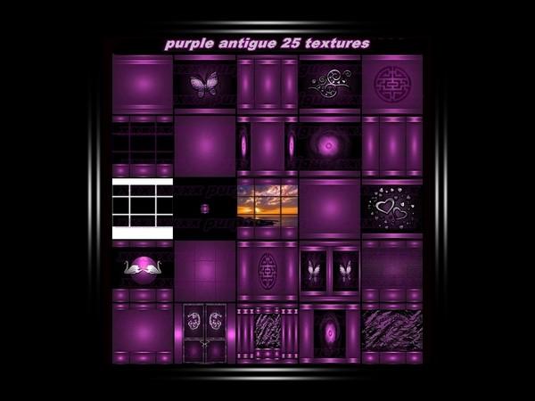 purple antigue 25 textures FOR IMVU CREATOR ROOMS