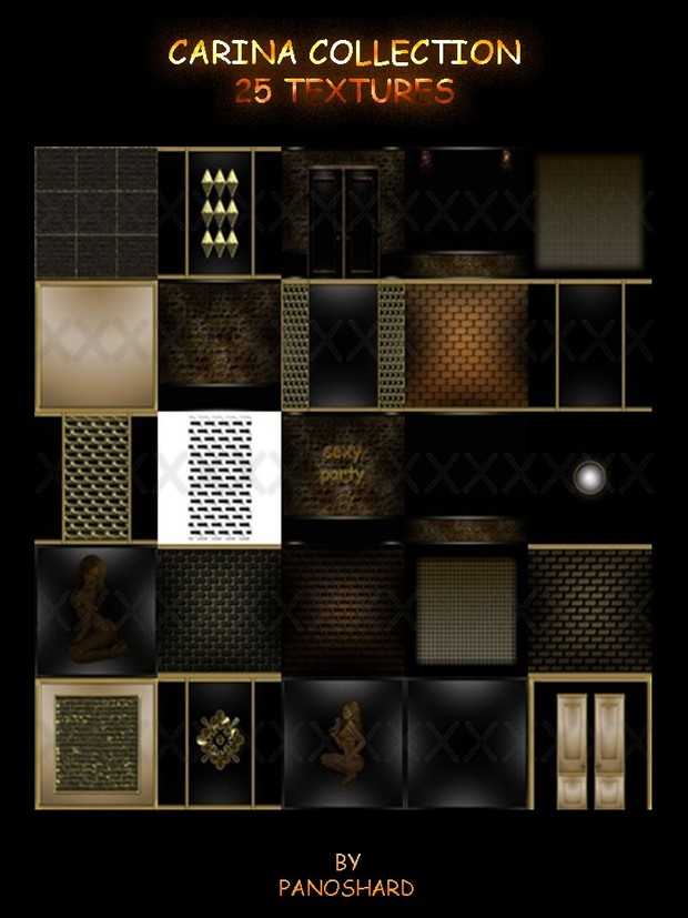 carina collection 25 textures room