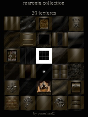 Maronia collection 30 textures room imvu