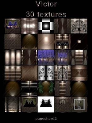 Victor 30 textures  room