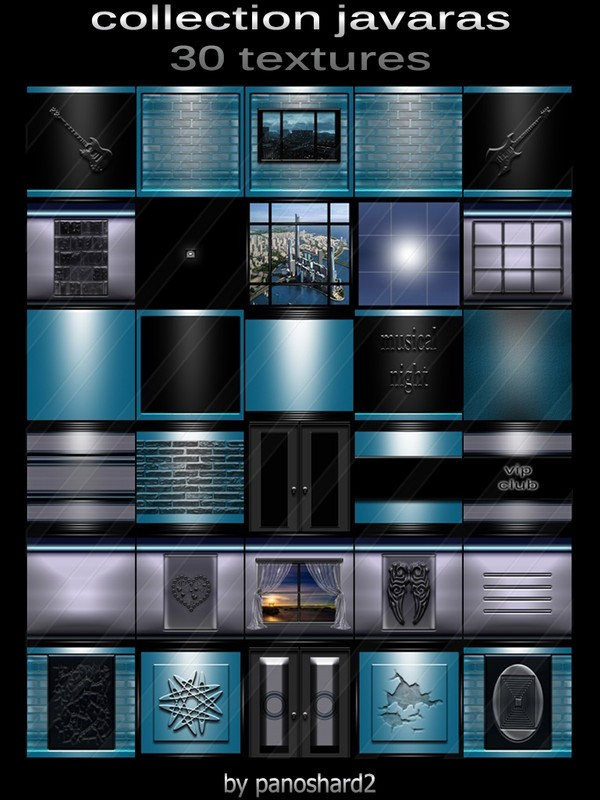 Collection javaras 30 textures for imvu creator rooms (will be sold to ten creators)