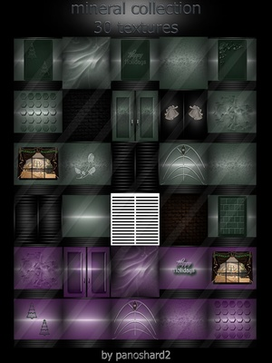 Mineral collection 30 textures imvu room