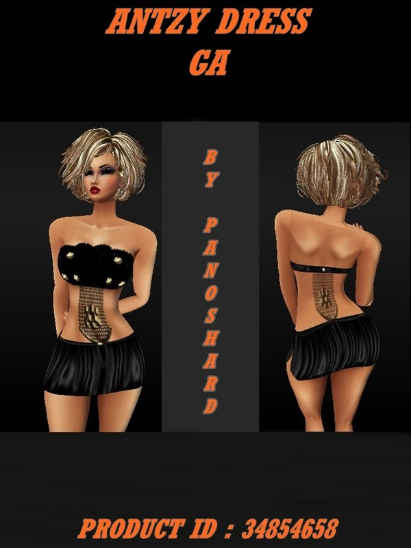 ANTZY DRESS GA IMVU
