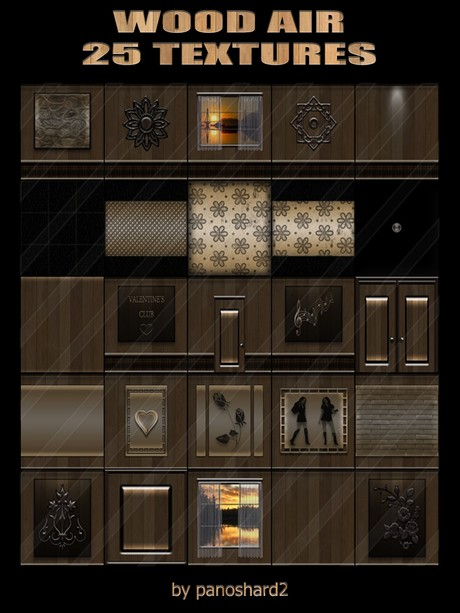 WOOD AIR 25 TEXTURES FOR IMVU CREATOR ROOMS ( will be sold to ten creator )