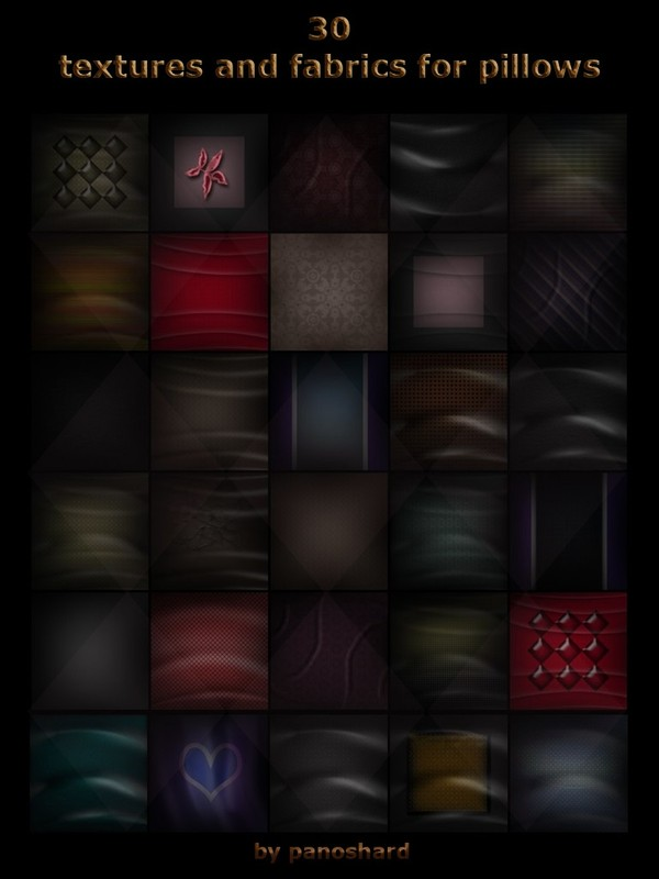 30 textures and fabrics for pillows on offer  discount