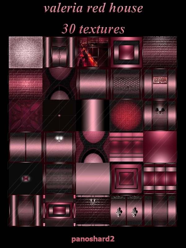 valeria red house 30 FOR IMVU CREATOR ROOMS