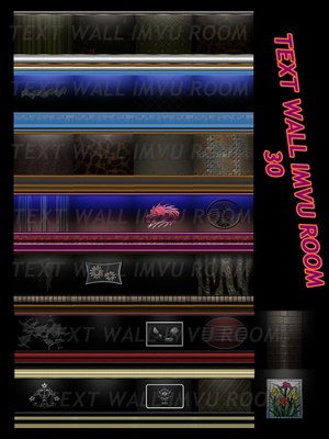 30 TEXTURES WALL IMVU ROOM
