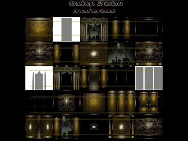 Stonehenge 25 textures