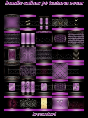 Bundle collors 30 textures imvu room