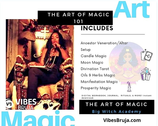 ART OF MAGIC 101- BIG WITCH ACADEMY BUNDLE