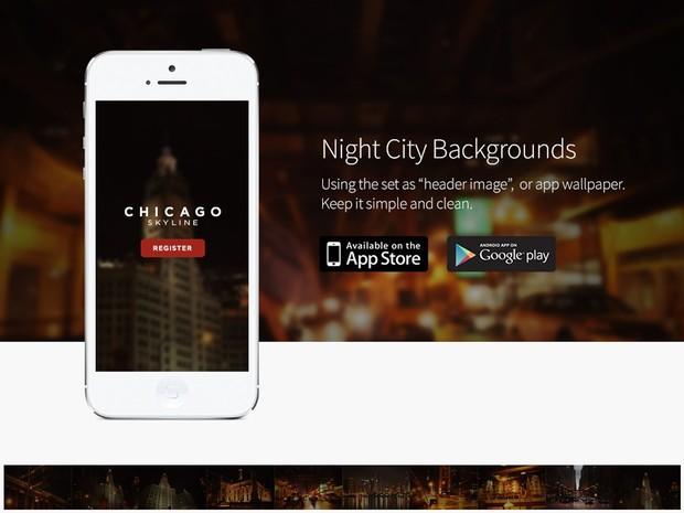 10 HD Night City - Blurred Backgrounds Set