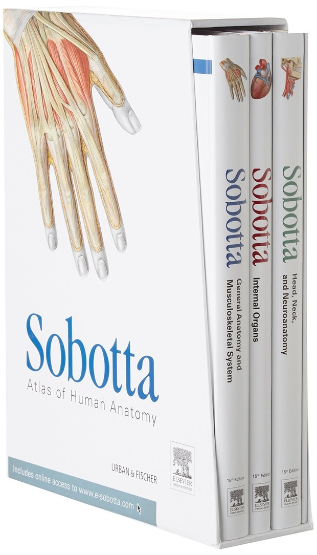 Sobotta Atlas of Human Anatomy 15th Edition Vol-2.