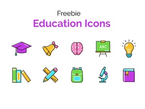 Free Education Icon Set