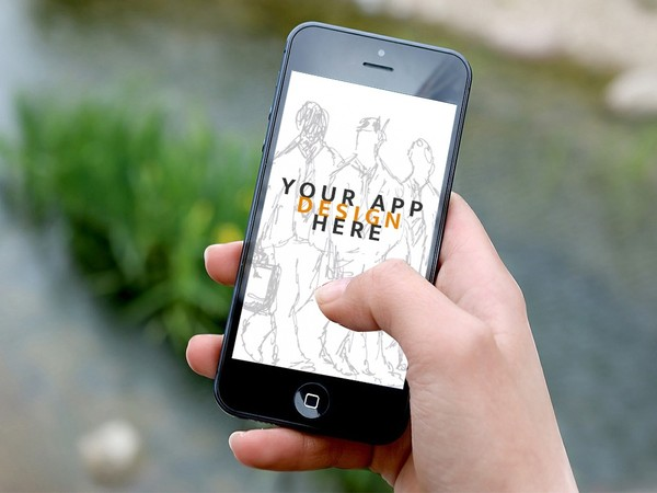 Free Iphone Mockup  for App