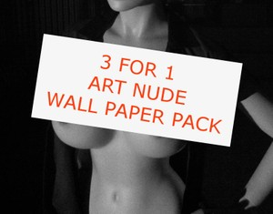 3 ART NUDE WALLPAPER IMAGES FOR THE PRICE OF 1 (April Only)