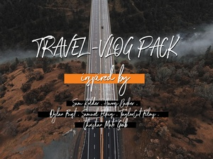 Travel VLOG LUTs ( ADVANCED ) - Inspired by popular cinematographers