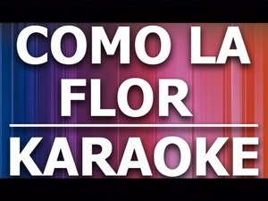 Como la flor - Karaoke - Selena