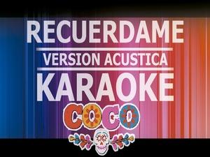Recuerdame - Karaoke -  Version Niño (Luis Angel Jaramillo)
