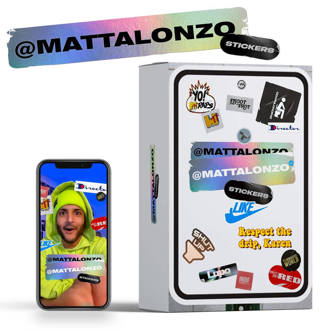 @MattAlonzo Stickers Pack 1