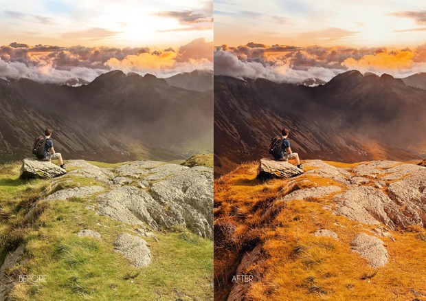 Heva Green And Orange! 10 Lightroom Premium presets by Angkurn