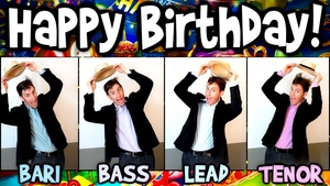 Happy Birthday To You [audio learning tracks]