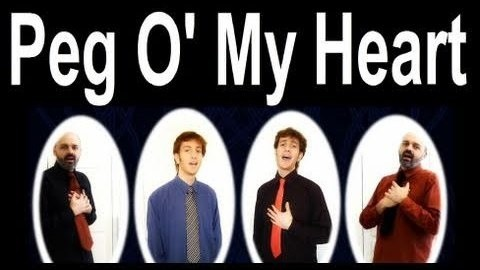 Peg O My Heart (audio learning tracks)