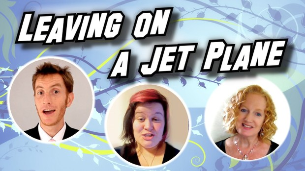 Leaving On A Jetplane [3 part] (audio learning tracks)