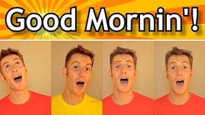 Good Morning (audio learning tracks)