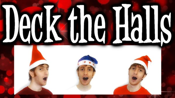Deck The Halls [3 part] (audio learning tracks)