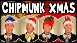 Chipmunk Christmas Song [audio learning tracks]