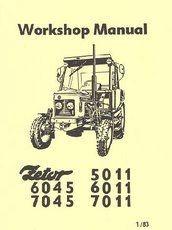 Workshop Manual Zetor Tractors