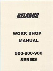 Workshop Manual Belarus Tractors - Verkstadshandbok Belarus Traktorer Flera modeller