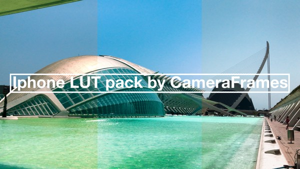 iPhone LUT pack by CameraFrames