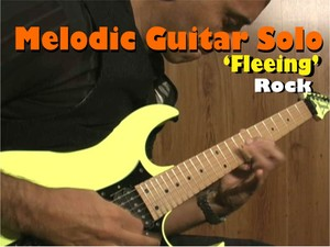 MELODIC GUITAR ROCK SOLO NEOCLASSICAL