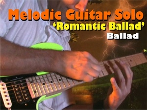 MELODIC GUITAR SOLO ROCK-BALLAD BRIAN MAY STYLE