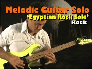 MELODIC GUITAR ROCK SOLO / MALMSTEEN VAN HALEN STYLE