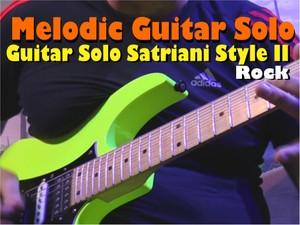 MELODIC GUITAR ROCK SOLO SATRIANI STYLE II