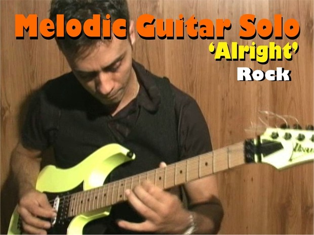 MELODIC GUITAR ROCK SOLO