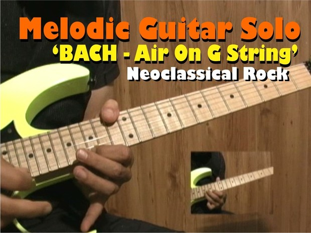 MELODIC GUITAR SOLO ROCK - BACH