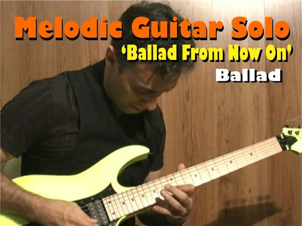 MELODIC GUITAR SOLO BALLAD VINNIE MOORE STYLE