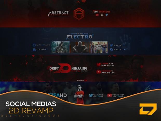 2D Social Medias Revamp