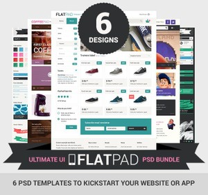 FlatPad PSD Bundle - Personal License