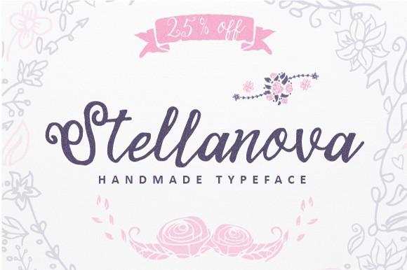 Stellanova Typeface