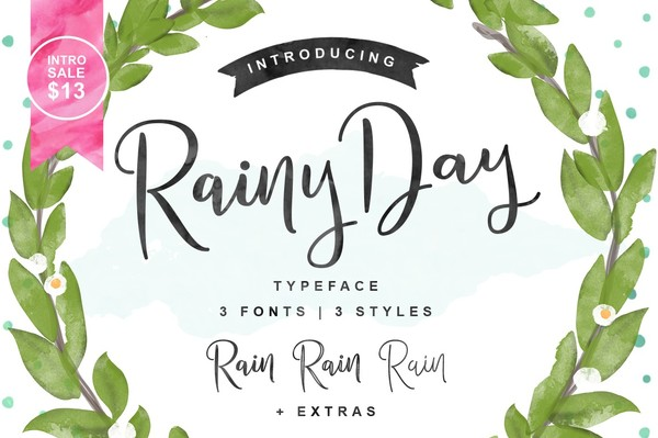 Rainy Day Typeface