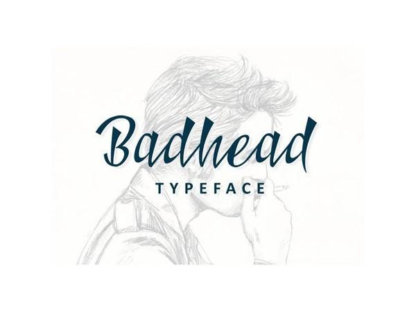 Badhead Typeface