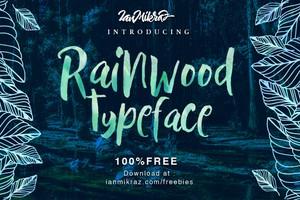 Rainwood Free Typeface