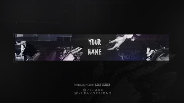 Abstract Youtube Banner