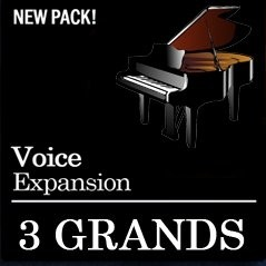 3 Grand Pianos For Genos / Tyros / PSR-S